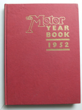 The Motor Yearbook 1952 (no Jacket)